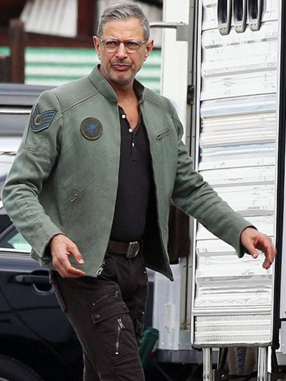 Independence Day Resurgence Jeff Goldblum Cotton Jacket