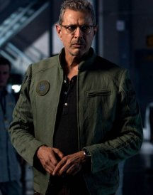 Independence Day Resurgence Jeff Goldblum Green Jacket