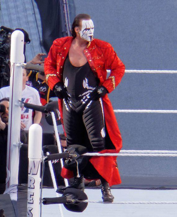 Sting WWE Superstar Steve Borden Red Long Coats