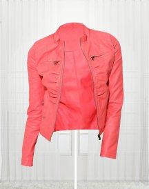 Super Stylish Coral Women's Bonded Jacket