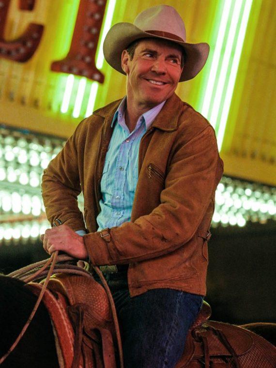 Vegas TV Series Sheriff Ralph Lamb Brown Jacket