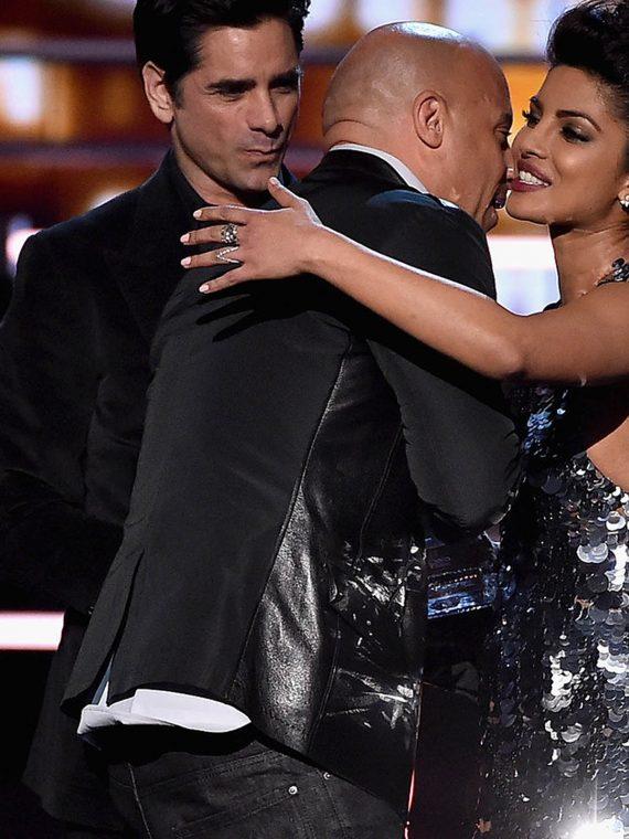 Vin Diesel Awards 2016 - Roaming Show Black Vest Jacket