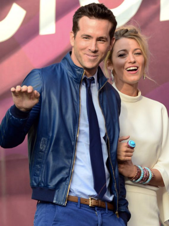 27 Times Blake Lively And Ryan Reynolds Blue Jacket