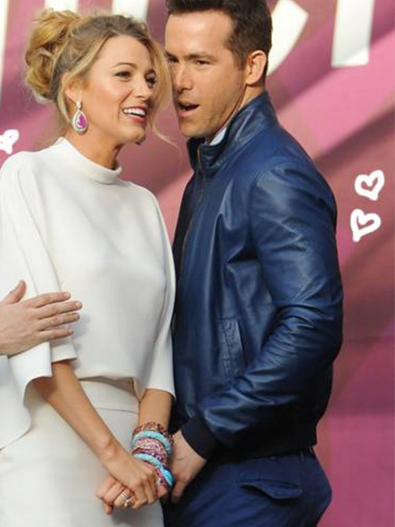 27 Times Blake Lively And Ryan Reynolds Blue Jackets