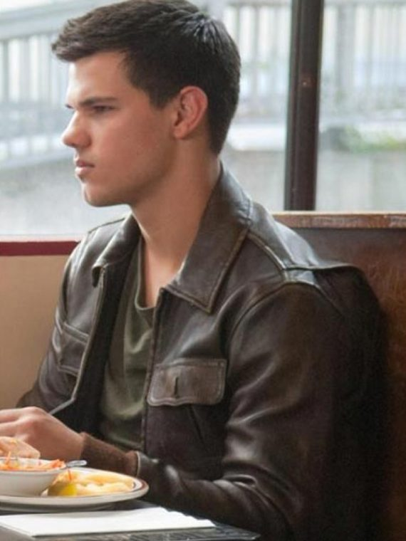 Abduction Nathan Harper (Taylor Lautner) Leather Jacket