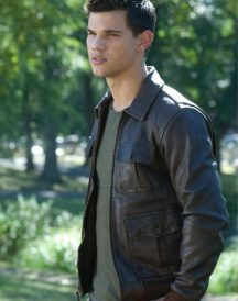 Abduction Nathan Harper (Taylor Lautner) Leather Jackets