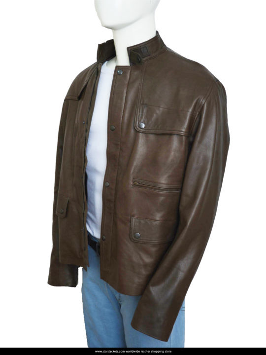 Ajax Brown Jacket