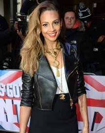Alesha Dixon Model Leather Jacket