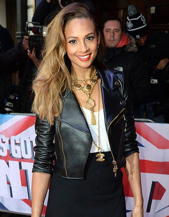 Alesha Dixon Model Leather Jacket