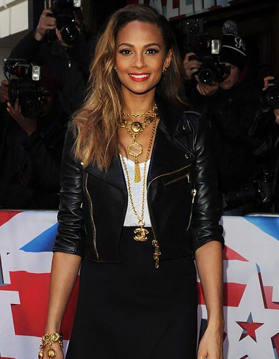 Alesha Dixon Sinder Leather Jacket