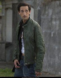 American Heist Adrien Brody Green Jackets