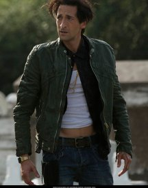 American Heist Adrien Brody Green Men's Jacket