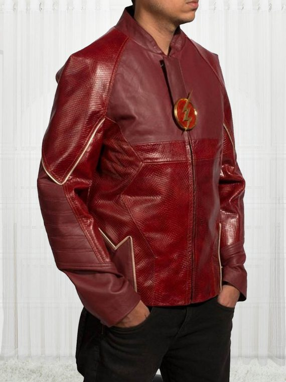 American Television Series Grant Gustin The Flash Jackets