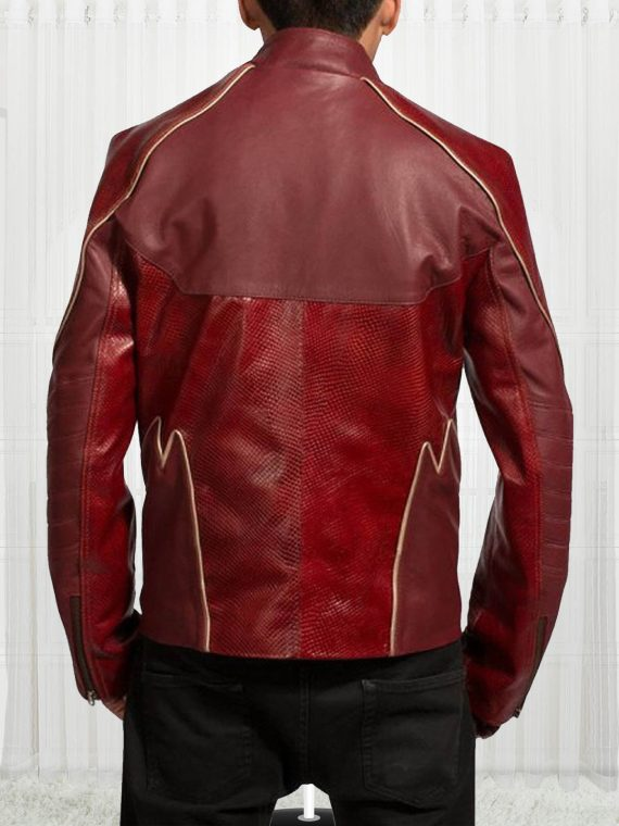 American Television Series The Flash Grant Gustin Jacket
