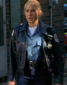 Angel Eyes Sharon Pogue Police Women Leather Jacket