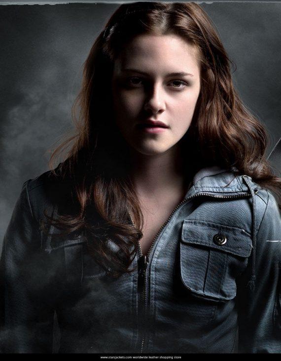 Appealing Twilight Kristen Stewart Bella Blue Jacket