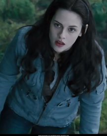 Appealing Twilight Kristen Stewart Bella Blue Jackets