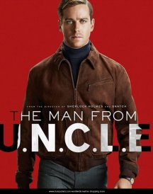 Armie Hammer The Man From UNCLE Brown Illya Jacket