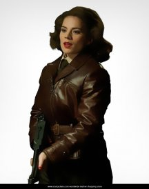 Avenger Captain America Peggy Carter jacket