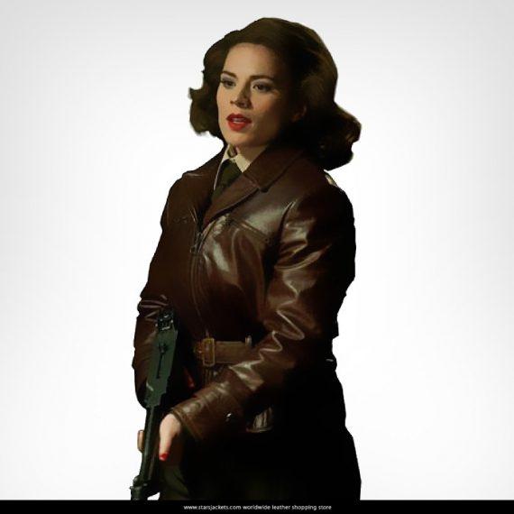 Avenger Captain America Peggy Carter jacket
