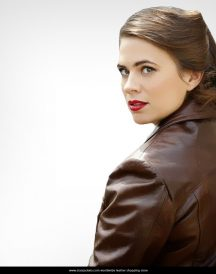 Avenger Captain America Peggy Carter jackets