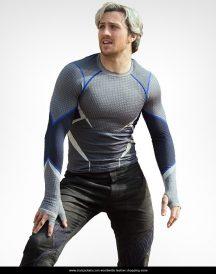 Avengers Age Of Ultron Stylish Quick Silver Jacket