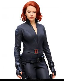Avengers Age of Ultron Black Widow Superb Jackets