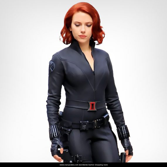 Avengers Age of Ultron Black Widow Superb Jacket - Stars ...