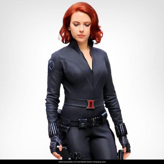 Black Widow Age Ultron: Avengers Age Of Ultron Black Widow Superb Jacket