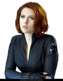Avengers Age of Ultron Superb Black Widow Jacket