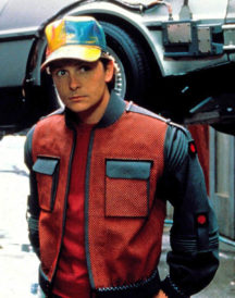 Back to the Future ii Marty Mcfly Jacket