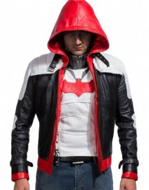 Batman Arkham Knight Hood Leather Jackets & Vests