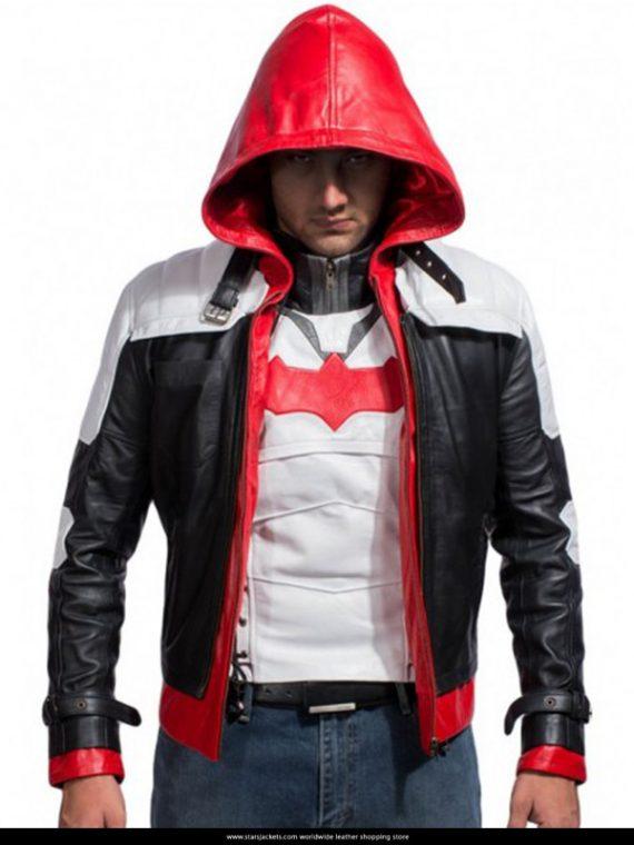 Batman Arkham Knight Hood Leather Jackets & Vests