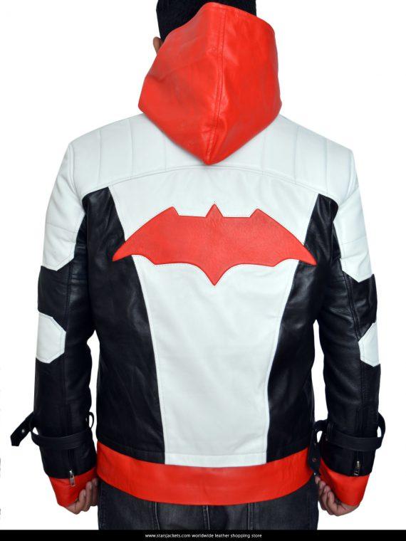 Batman Arkham Knight Red Hood Jacket And Vest