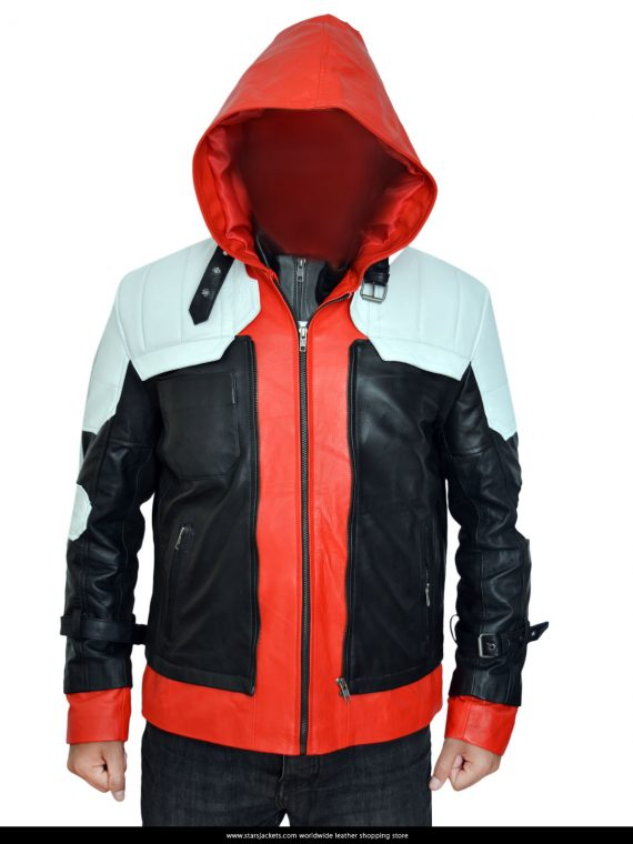 Batman Arkham Knight Red Hood Jacket With Vest