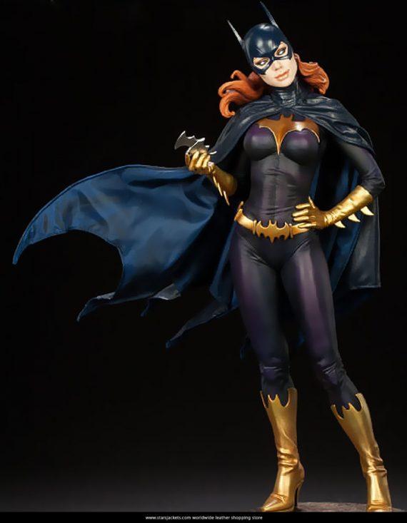 Batman Batgirl Leather Jacket For Women