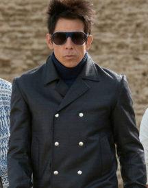 Ben Stiller Zoolander 2 Black Leather Coat