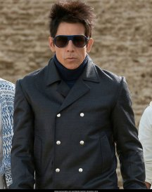 Ben Stiller Zoolander 2 Leather Coat