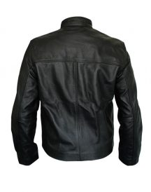 Bike Rider Steve McQueen HEUER GrandPrix Leather Jackets