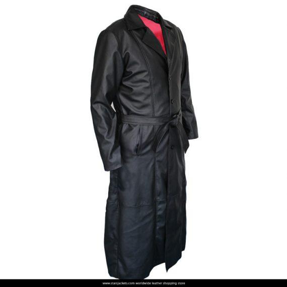Blade Wesley Snipes Trench Black Coat