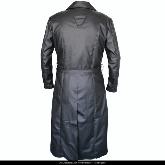 Blade Wesley Snipes Trench Black Leather Coats