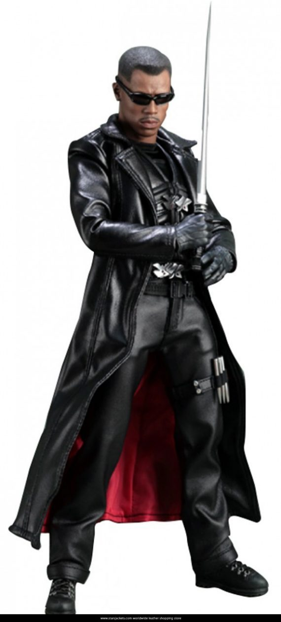 Blade Wesley Snipes Trench Coat