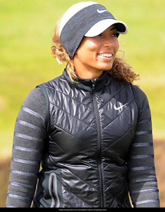 Cheyenne Woods Stain Fabric Black Vests