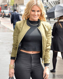 Danielle Armstrong Dressing in London Jacket