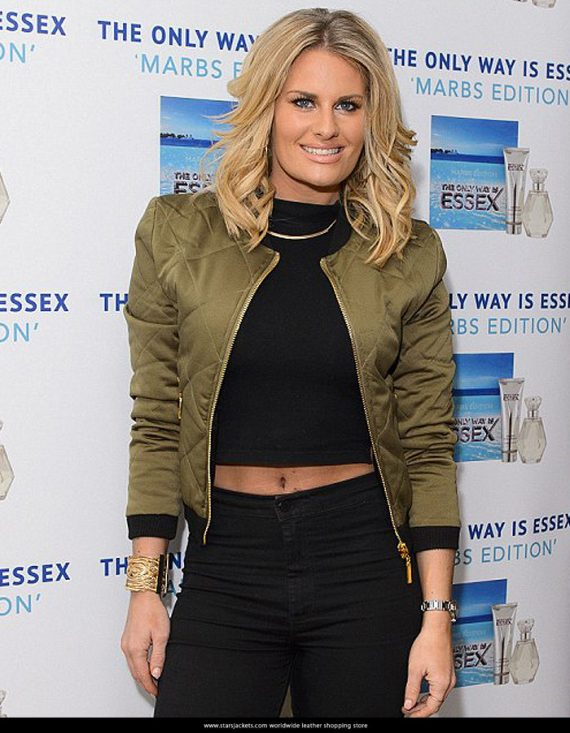 Danielle Armstrong Satin Women's Jacket