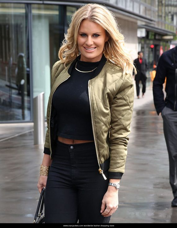 Danielle Armstrong Satin Women's Jackets
