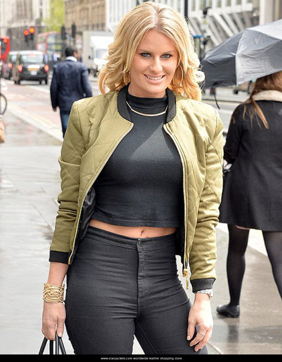 Danielle Armstrong Satin Women Jacket