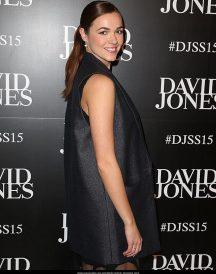 Demi Harman Fashion Show Glorious Trench Woolen Coat