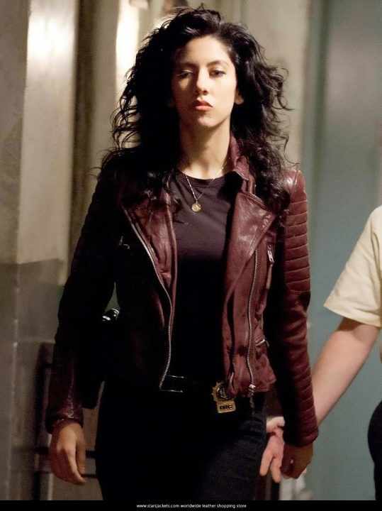 Detective Rosa Diaz Brooklyn 99 Leather Jackets