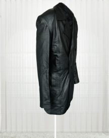 Doctor Who Christopher Eccleston Leather Black Coat